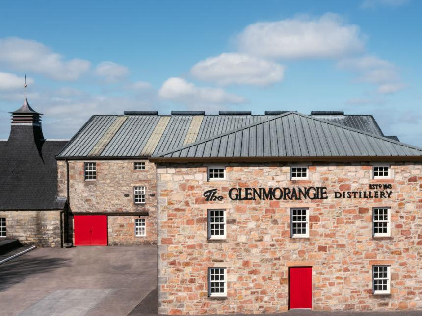 Images of the distillery